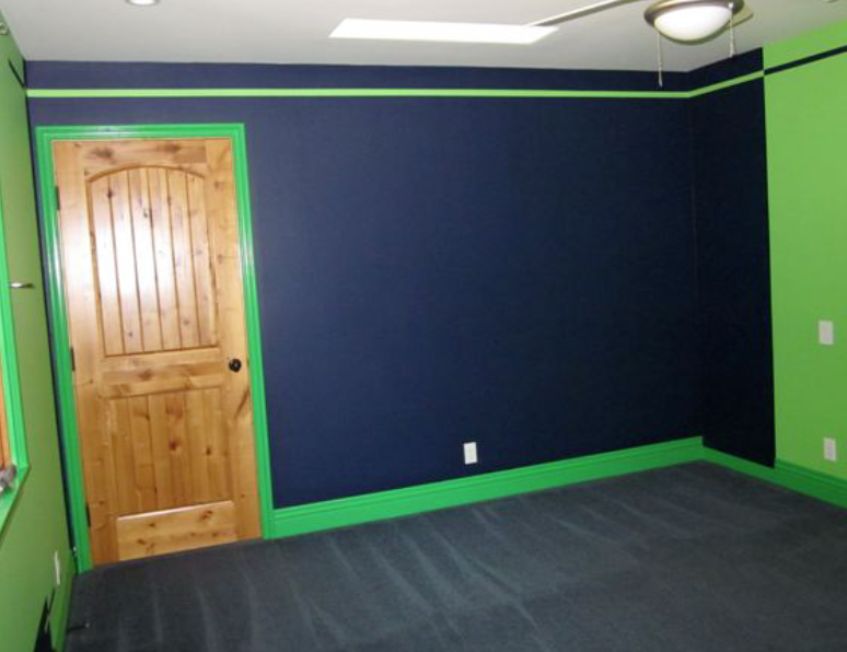 Boys Bedroom in Green & Blue – Neale Hughes