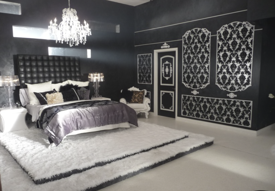 Black and White Bedroom Set – Neale Hughes